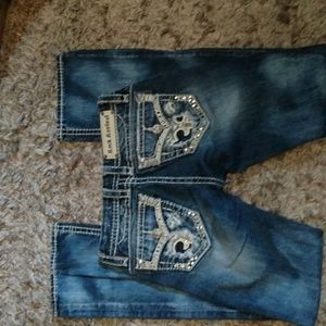 Rock revival 25 Gloria boot cut jeans bling buckle